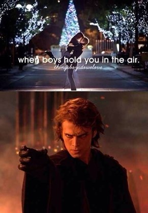 The Dark Side Knows Romance