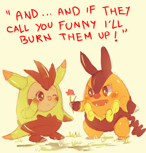I'm Still Going to Choose You Chespin!