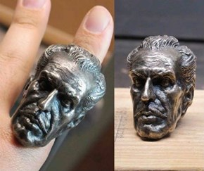 Prepare Your Hand For Halloween with a Vincent Prince Ring