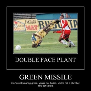 GREEN MISSILE