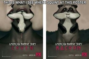 The New American Horror Story Poster Knocked Over My Trash Cans!