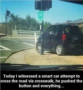 Less-than-Smart Crossing