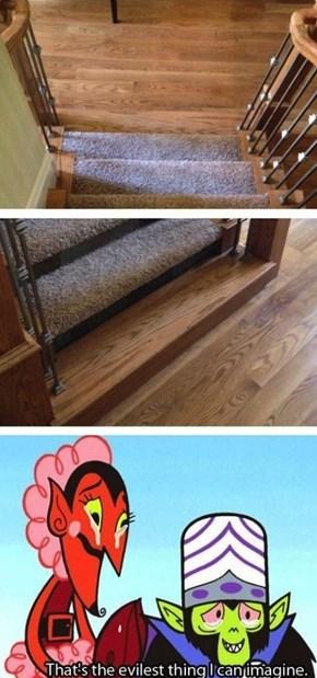 Troll staircase