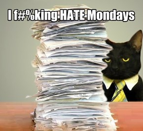 I f#%king HATE Mondays