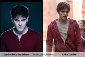 Zombie Nick the Grimm Totally Looks Like R the Zombie