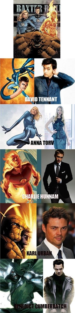 The Best FanCast of Fantastic Four