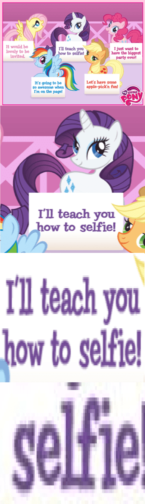 Rarity Needs To Work On Word Choice