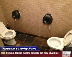National Security News - Dems & Repubs meet to squeeze out new NSA rules