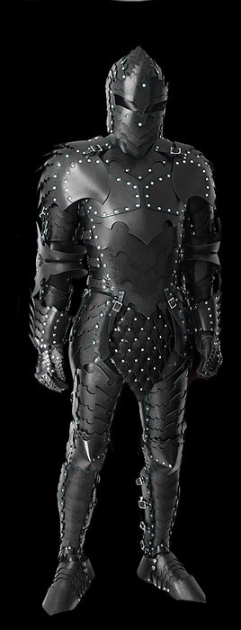 This Full Set of Dark Knight Armor Can be Yours For Just $2500