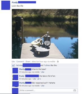 Fishin' for some tunes