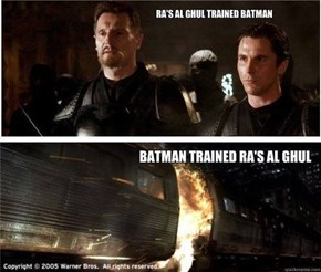 Pun Level Batman Begins