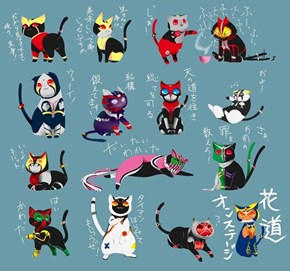 Kamen Rider Cats