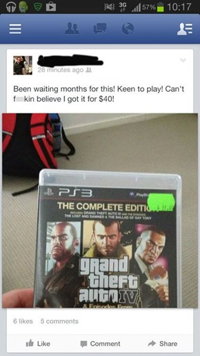 This Guy Bought the Wrong GTA