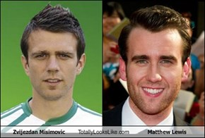 Zvijezdan Misimovic Totally Looks Like Matthew Lewis
