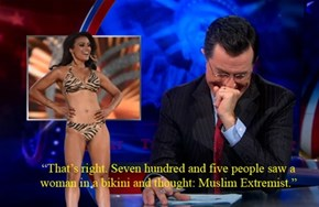 Even Colbert Couldn't Keep a Straight Face Through This One
