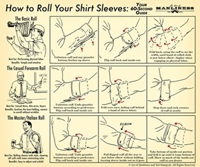 Roll Your Sleeves Like a Boss in 60 Secronds