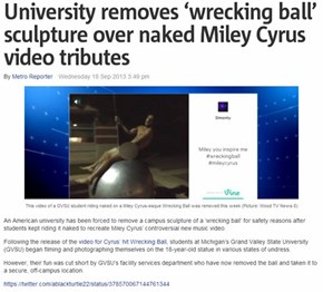 What Have You Done to Us, Miley?
