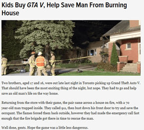 GTA Does Not Make Us Bad People