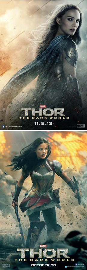 New Thor: The Dark World Character Posters