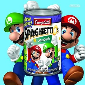 The 80s Are Coming Back With Mario & Luigi SpaghettiOs