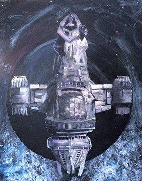 """Serene II "" by Dimitri Walker"