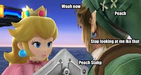 Peach Stahp