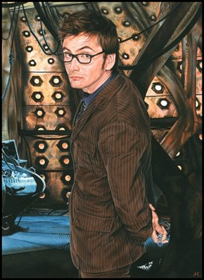 David Tennant's a Ten as the Tenth Doctor