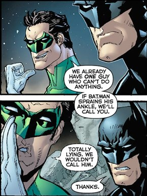Green Lantern Is Kind've A Jerk