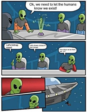 Logic is Lost Upon Aliens