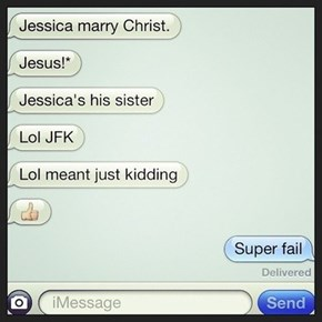 Jessica, Marry, and Joseph...