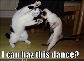 I can haz this dance?