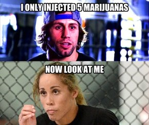 I ONLY INJECTED 5 MARIJUANAS