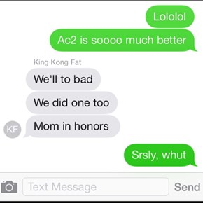 Mom in Honors?