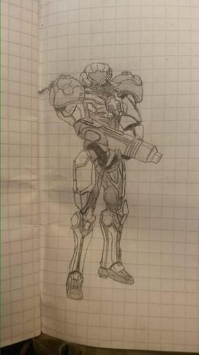 Awesome Metroid- Fan Art