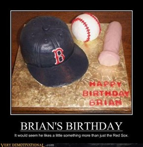 Don't Be a Wiener Brian and Blow Out Your Candles
