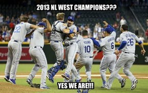 2013 NL WEST CHAMPIONS???