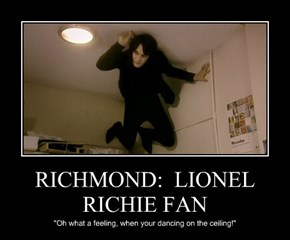 RICHMOND:  LIONEL RICHIE FAN