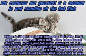 Offishul JeffCatsBookClub Memburship Kard for guest001