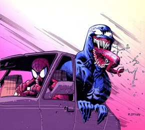 Does Venom Wanna Go For A Ride!?