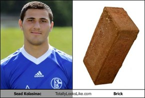 Sead Kolasinac Totally Looks Like Brick
