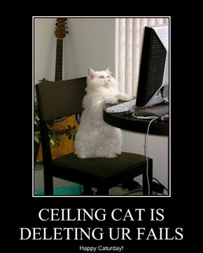 CEILING CAT IS DELETING UR FAILS