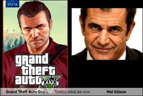 Grand Theft Auto Guy Totally Looks Like Mel Gibson