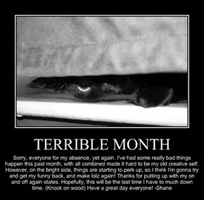 TERRIBLE MONTH