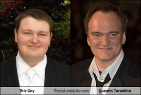 This Guy Totally Looks Like Quentin Tarantino