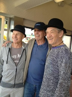 Picard, Spock and Gandalf Walk Into A Bar