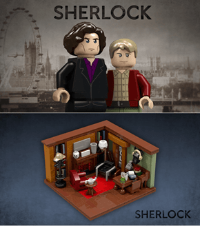 How Amazing is This Sherlock LEGO Set?