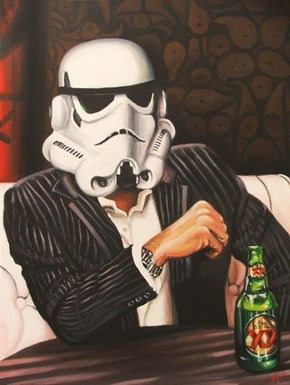 Do You Think the Most Interesting Storm Trooper Has Decent Aim?