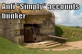 "Anti ""Simply"" accounts bunker"