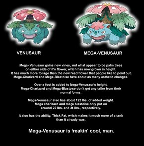 Stop Dissing Mega Venusaur