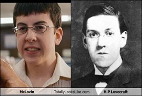 McLovin Totally Looks Like H.P Lovecraft